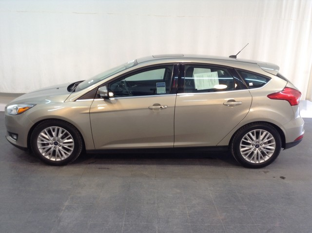 Pre Owned 2016 Ford Focus Titanium Front Wheel Drive Hatchback