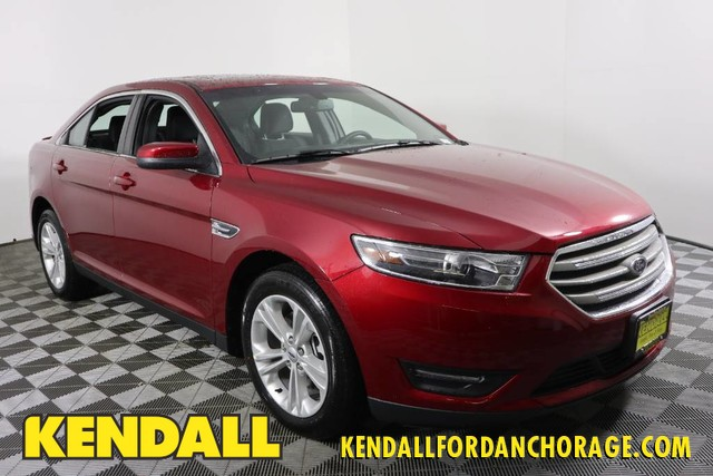 New 2018 Ford Taurus Sel Awd 4dr Car For Sale Jf13409 Kendall
