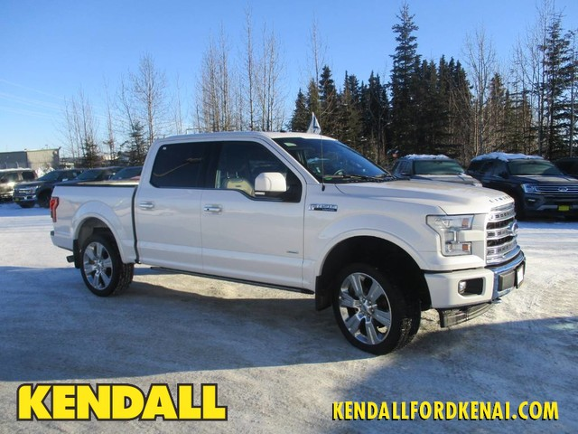 Pre Owned 2017 Ford F 150 Limited Four Wheel Drive Pickup Truck