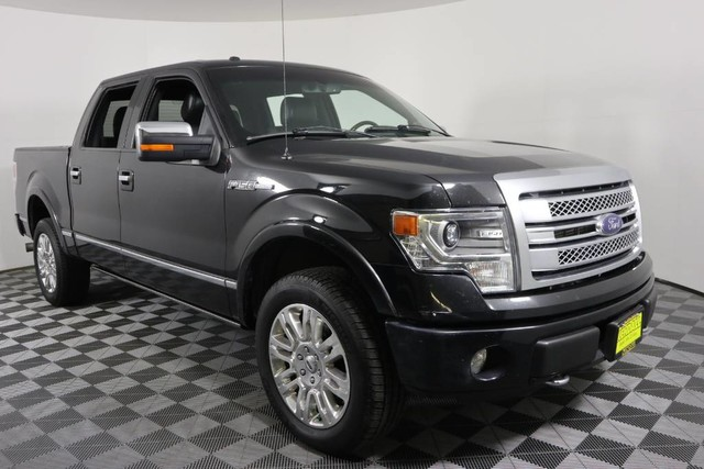 2014 F150 Platinum >> Pre Owned 2014 Ford F 150 Platinum Four Wheel Drive Pickup Truck