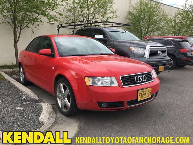 Kendall Toyota Anchorage >> Pre-Owned 2004 Audi A4 1.8T Sedan for Sale #NT30854B ...