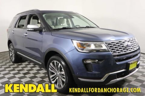 New 2019 Ford Explorer Platinum