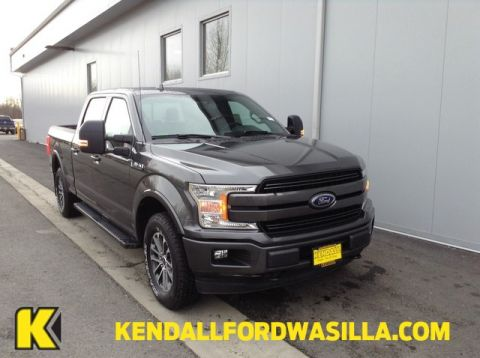 New 2018 Ford F-150 LARIAT 4WD SUPERCREW 6.5'